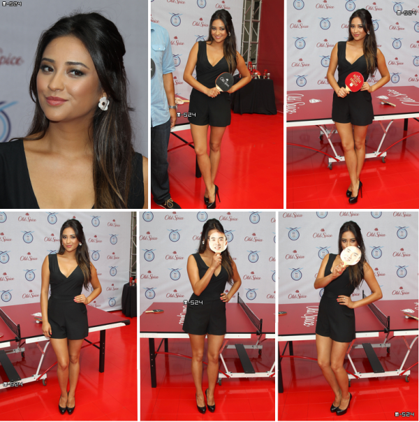 "Candids du 12 juillet 2012 : Shay au Old Spice ""Believe in Your Smellf"" Training Day"