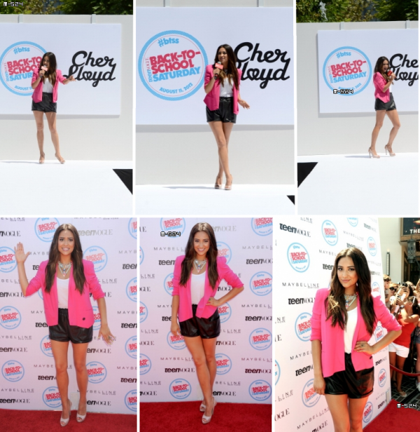 Candids du 11 ao�t 2012 : Shay � l'�v�nement Teen Vogue, Back To School Saturday
