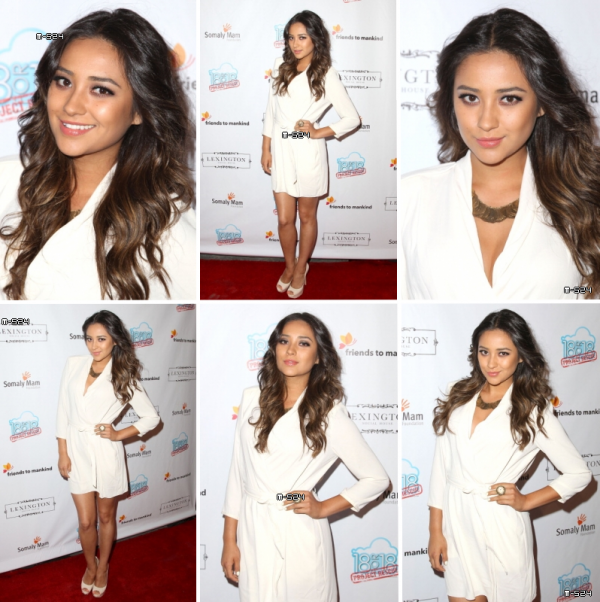 "Candids du 19 ao�t 2012 : Shay � l'event ""The Jump"" Benefiting The Somaly Mam Foundation"