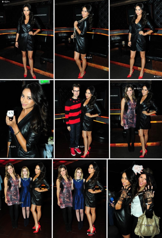 Candids du 10 octobre 2012 : AX Armani Exchange Turns Up The Style At HYDE Lounge