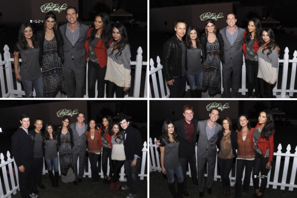 "Candids du 17 octobre 2012 :  The ""Pretty Little Liars"" Halloween Episode Premiere"""